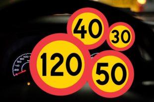 السرعة القصوى للمركبات في السويد