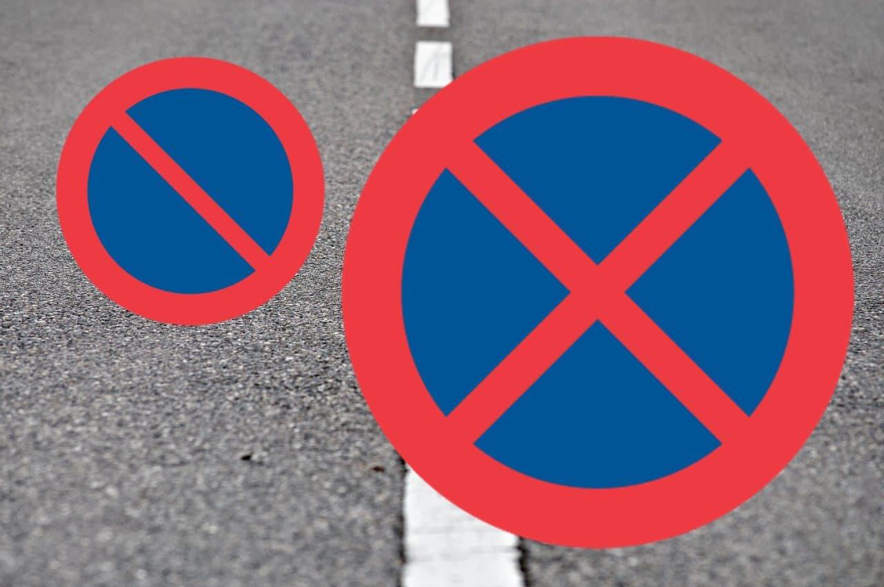 إشارات الوقوف و التوقف و الباركينغ Parking Swednu السويد الآن